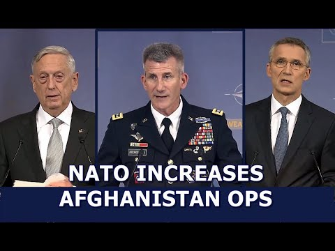 NATO in AFGHAN: 11/12/17. Defense Official's Announce New Mission Details w/ Press Q&A.