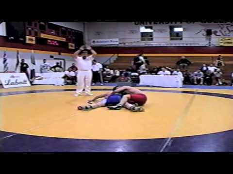 2002 Senior Greco National Championships: 84 kg Nico Jacobs vs. Scott Seeley
