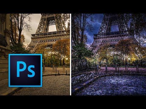 Rain Effect | Photoshop Manipulation Tutorial Part 1