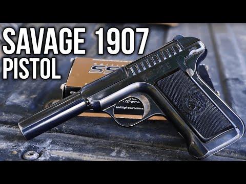 The Savage 1907 Semi-Automatic Pistol