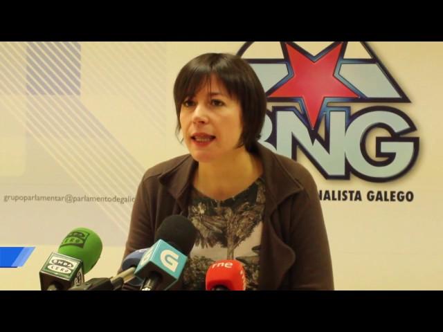 """Ana Pontón: """"Que pasaría se en lugar de mulleres asasinasen 15 deputad@s en dous meses?"""""""