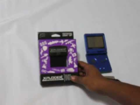 xploder game boy advance sp