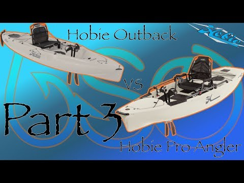 Which Should You Buy? Part 3 Outback vs Pro Angler: Mobility and Fishibility