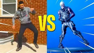 ALL FORTNITE DANCES/EMOTES IN REAL LIFE!! [MISE À JOUR]