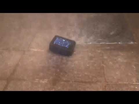 GoPro Hero7 - Water Freeze - shower test