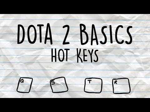 Dota 2 Basics | Hotkeys free Download :popular-software.com