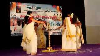 """Thiruvathirakali l Malayalam Songs   """"Kaithapoo Manamenthe.""""  Thiruvathirakali Songs# തിരുവാതിരക്കളി"""