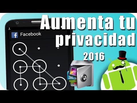 MEJORA LA PRIVACIDAD DE TU ANDROID - Patrón De Desbloqueo Para Tus Apps / Oculta Imágenes X