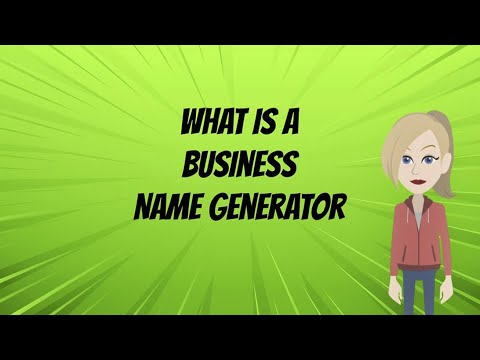 Free Business Name Generator - Get Catchy Name In 3 Seconds