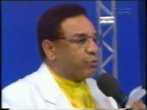 Agnaldo Timóteo em participação do programa Festa do Malandro