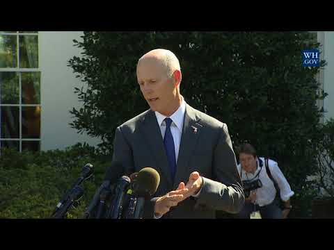 Governor Rick Scott Gives an Update on Hurricane Recovery Efforts