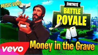 Drake - Money In The Grave ft. Rick Ross (Fortnite Music Video)