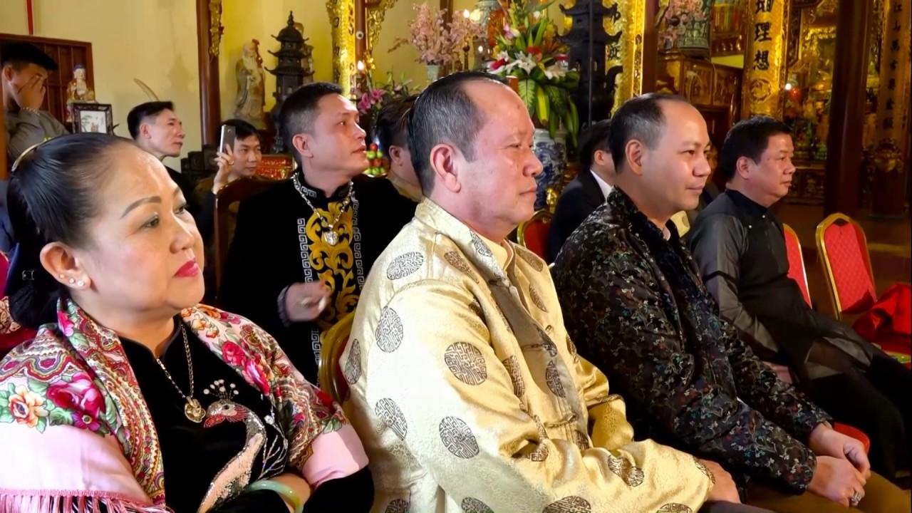 Thủ Nhang Đồng Đền : Trần Văn Hải - Hầu Tạ Tiệc Thánh Cô Thủ Đền P2 #haudonghaynhat
