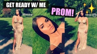 GET READY WITH ME: PROM 2017♡