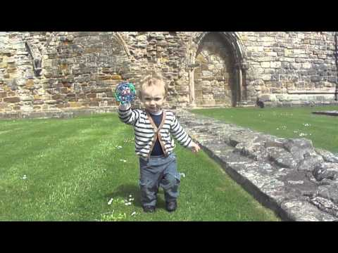 Little Leonard at the Cathedral Grounds, 20 Months