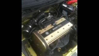 Corsa B X20XEV First start PROJECT GOLDEN GOOSE!