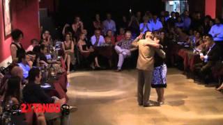 Tango Argentino: Osvaldo y Coca Cartery en milonga Porteño y Bailarin Feb 2011
