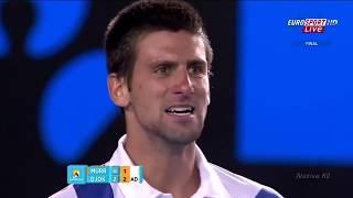 Novak Djokovic   Top 10 Victory Roars