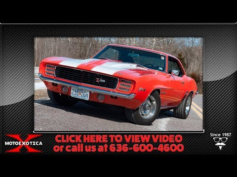 1969 Chevrolet Camaro R/S Z-28 || For Sale