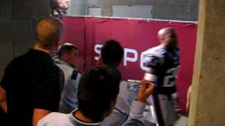 Superbowl XLII Patriots 17- 1 ONLY ONE LOSS - Locker Room ~ ~Never seen before footage ~ ~