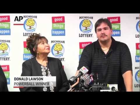 Ex-Mich. Rail Worker Claims $337M Lotto Prize
