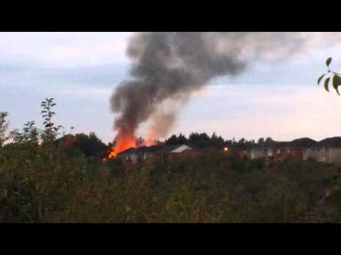 Fire in Brampton Oct 7 2015