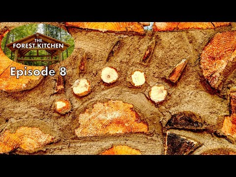Cordwood Bear Claw, Homemade Cheese | The Forest Kitchen | Off Grid Log Cabin Build, Ep.8 S1