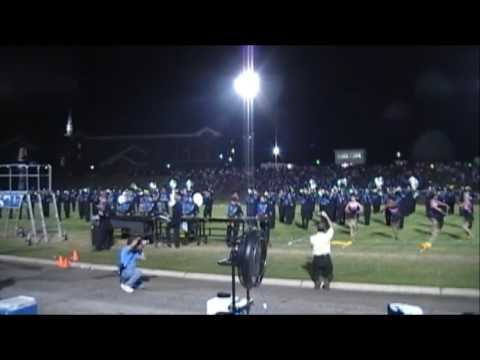 Enterprise High School Band performs during Homecoming