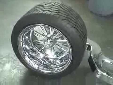 Allthingschrome Can Am Spyder 400mm Fat Tire Single Side
