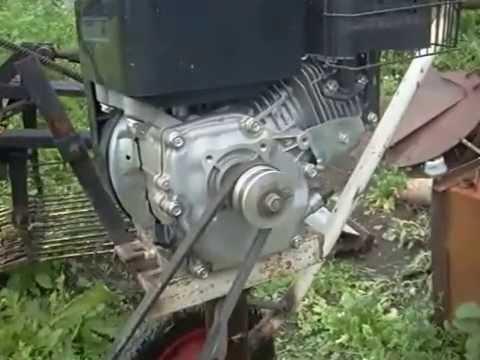 самодельная бензиновая газонокосилка