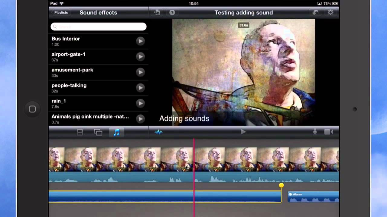 Imovie Image Effects