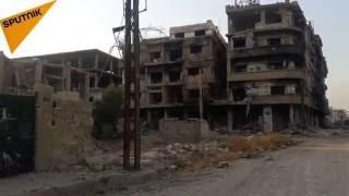 بالصور والفيديو... داريا السورية تحولت إلى مدينة الأشباح