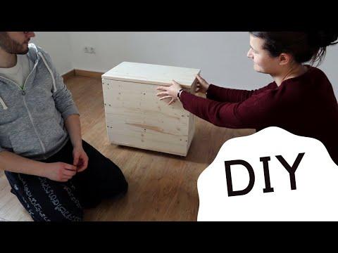 Wurmkiste selber bauen aus Holz - DIY Wurmkomposter