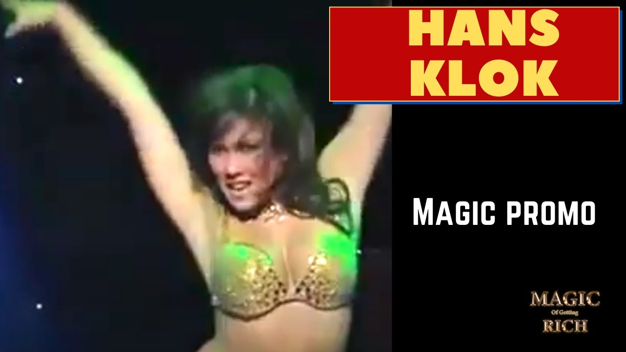 Hans Klok  Magic Act