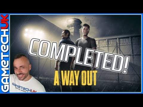 A Way Out - AMAZING CO-OP game - Completed in one stream!