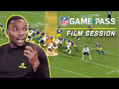 Eddie Jackson Breaks Down Run Game, Instincts, & Reading Offensive Formations | NFL Film Sessions