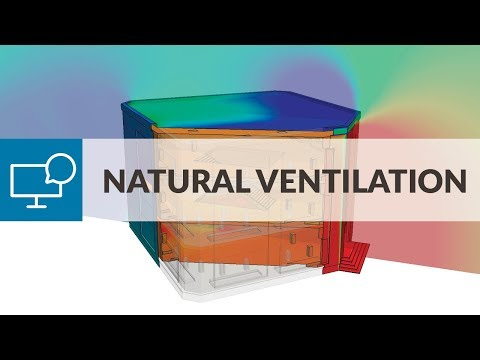 Validate Natural Ventilation in Commercial Buildings with CF