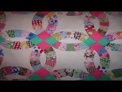 Beginners Quilt Block Patterns Free Wedding Ring Quilt Bedspreads