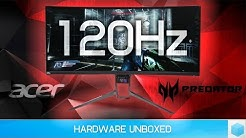 Acer Predator X34P Review; 120Hz 1440p Ultrawide BEAST!