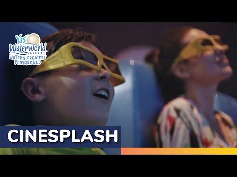 Yas Waterworld   Cinesplash   5D Water Cinema Ride