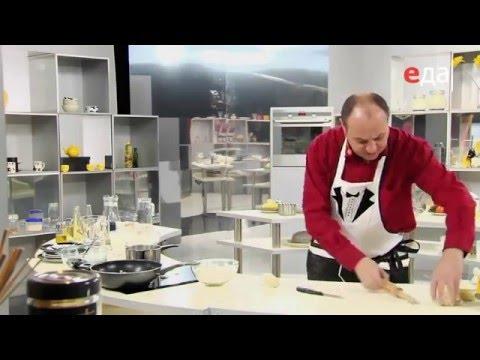Шкварки с луком к вареникам с картошкой рецепт от шеф-повара / Илья Лазерсон / украинская кухня