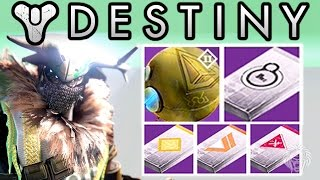 Destiny: HUGE LOOT OPENING! Judgement Chance, 20 Postmaster Packages & Decoding 9 Legendary Engrams