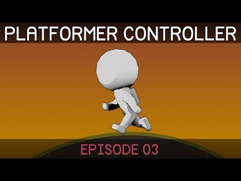 [Unity] Creating a 2D Platformer (E03. jump physics)
