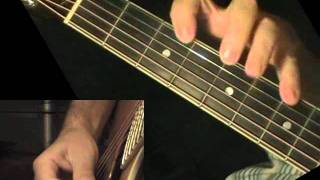 Blackberry Blossom - guitar lesson + TAB! learn to play bluegrass tune on acoustic guitar