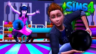 BOWLING NIGHT // The Sims 4 VAMPIRES (Part 12) - [The Sims 4 Bowling Night Stuff]