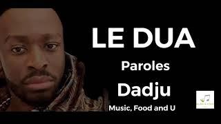 Dadju - Le Dua (Paroles/Lyrics vidéo) piano remix Resimi