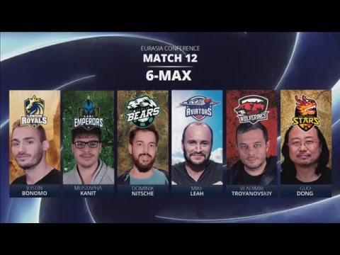Replay - GPL Week 2 EurAsia 6-max match 2 - W2M12