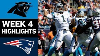 Panthers vs. Patriots | NFL Week 4 Game Highlights thumbnail