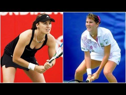 MONICA SELES vs MARTINA HINGIS Canada Open 1998 CLASSIC