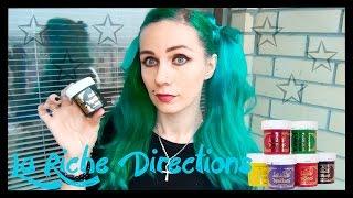 Моя проблема: Цветная краска для волос / Обзор цветных красок для волос - La Riche DIRECTIONS